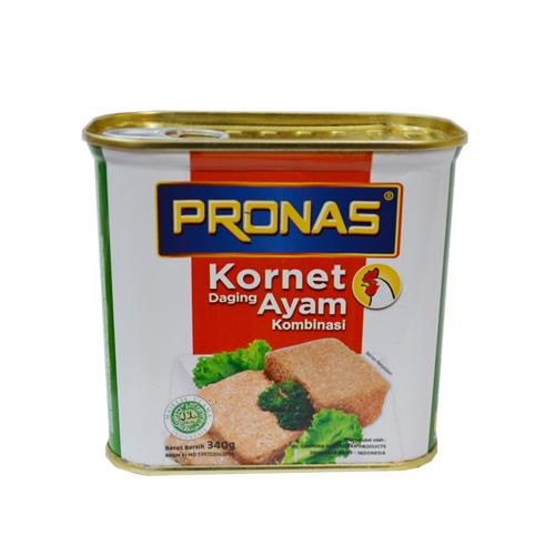 Pronas Kornet Daging Ayam 340 Gr 019013 Mirota Kampus